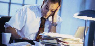 سلامت نیروی کار در معرض خطر استرس