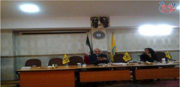 جلسه هیأت نظارت انتخابات شورای مرکزی در رابطه با روند رسیدگی انتخابات