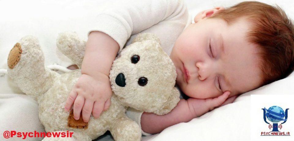 خوابیدن را به فرزندتان آموزش دهید.