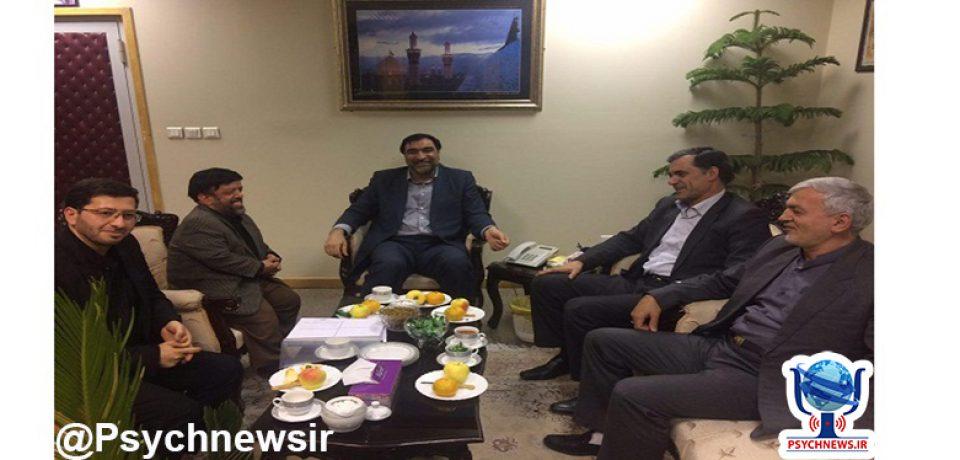 دیدار دکتر اللهیاری با رئیس دیوان محاسبات کشور
