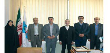 نشست مشترک ریاست دانشکده روانشناسی دانشگاه تهران و سازمان جوانان هلال احمر