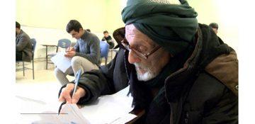 وقتی مسن ترین و با اراده ترین دانشجوی کشور رشته روانشناسی را انتخاب می کند