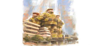 قهرمان را دریاب! لزوم رسیدگی روانی به آتش نشانان حادثه ساختمان پلاسکو