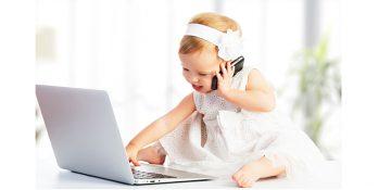 استفاده مکرر از دستگاههای الکترونیکی سبب مشکلات خواب در کودکان می شود
