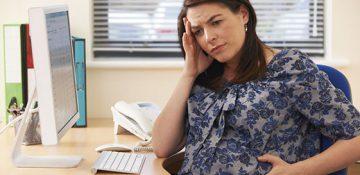 استرس در اواخر دوران بارداری احتمال ابتلا به پرخوری را در فرزندان دختر بالا می برد