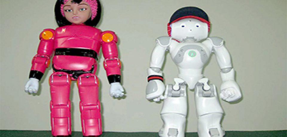 ربات های مینا ونیما درخدمت کودکان مبتلا به اوتیسم