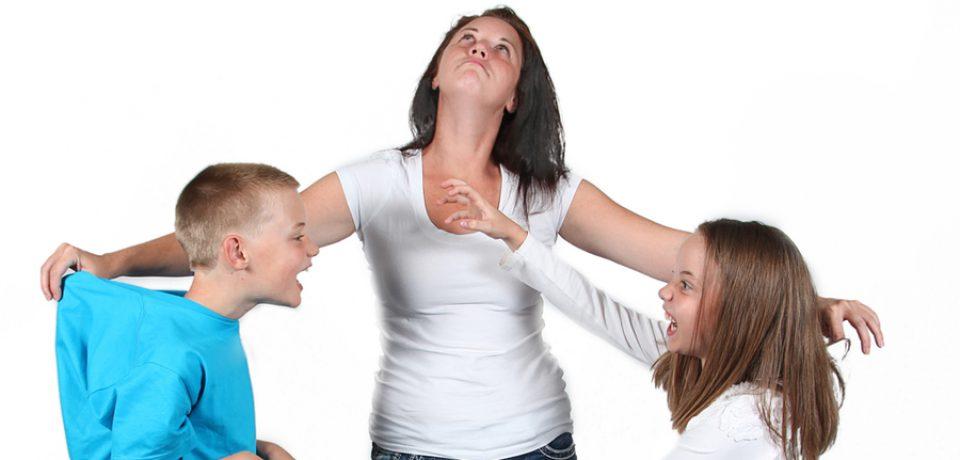 لطفا اجازه دهید کودکان دعوا کنند