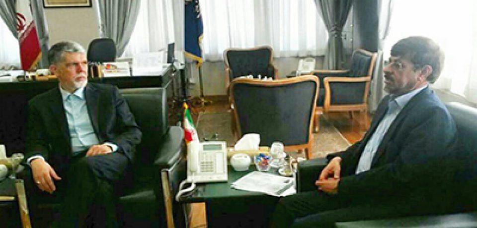 دیدار رئیس سازمان نظام روانشناسی و مشاوره با وزیر ارشاد