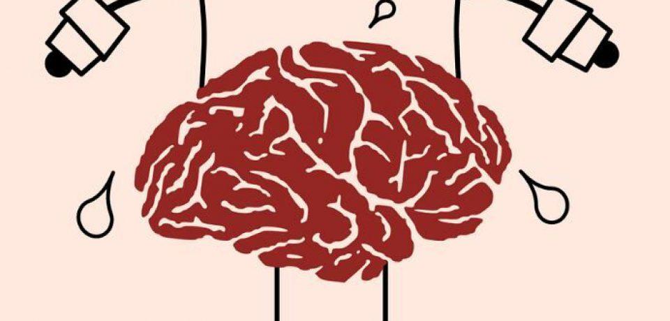 ورزش زیاد مغز را خسته میکند