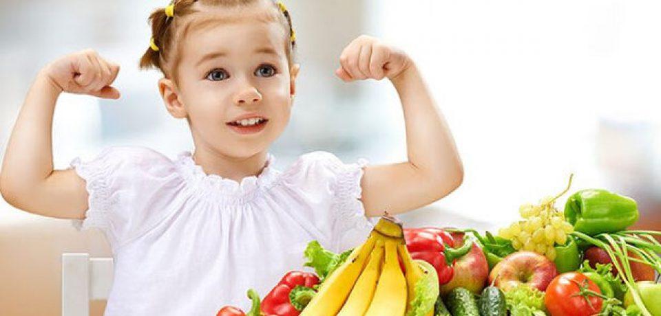 ارتباط سلامت روانی کودکان با مصرف بیشتر میوه و سبزیجات